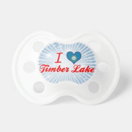 I Love Timber Lake, South Dakota Pacifiers