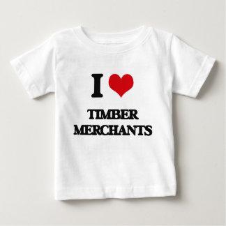 I love Timber Merchants T-shirt