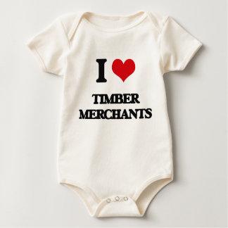 I love Timber Merchants Bodysuit