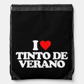 I LOVE TINTO DE VERANO DRAWSTRING BAG