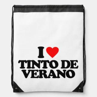 I LOVE TINTO DE VERANO DRAWSTRING BACKPACK