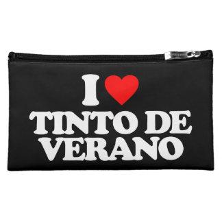 I LOVE TINTO DE VERANO COSMETIC BAGS
