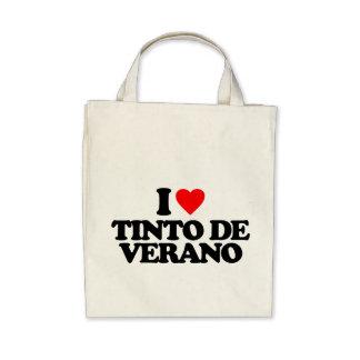 I LOVE TINTO DE VERANO BAGS