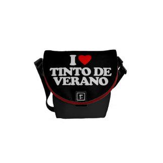 I LOVE TINTO DE VERANO MESSENGER BAGS