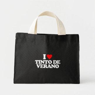 I LOVE TINTO DE VERANO MINI TOTE BAG