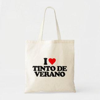 I LOVE TINTO DE VERANO TOTE BAGS
