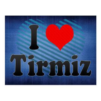 I Love Tirmiz, Uzbekistan Postcard