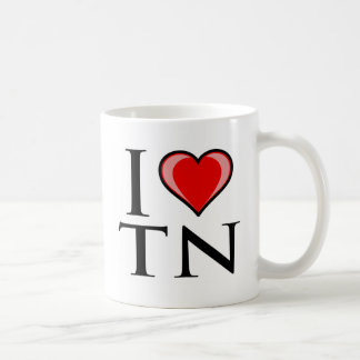 I Love TN - Tennessee Coffee Mug