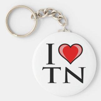 I Love TN - Tennessee Key Ring
