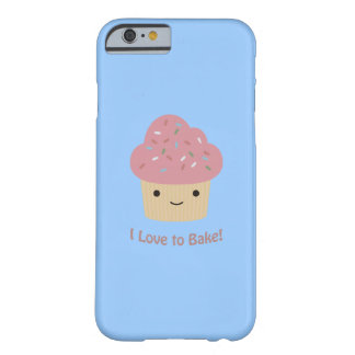 I love to Bake! Cute Cupcake Barely There iPhone 6 Case