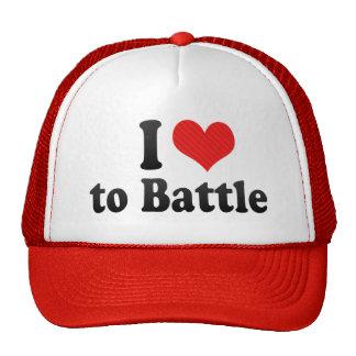 I Love to Battle Mesh Hat