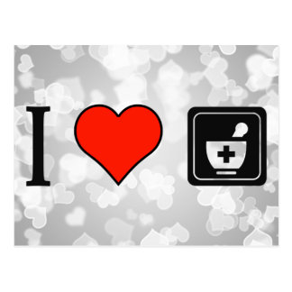 I Love To Be A Pharmacist Postcard