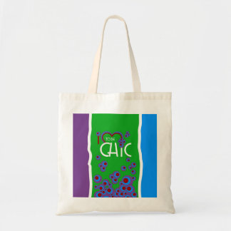 I love to be chic bags
