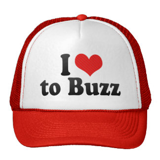 I Love to Buzz Trucker Hat