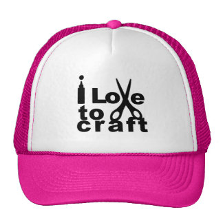 I Love to Craft Trucker Hat