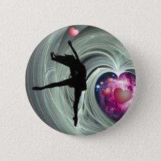 I Love To Dance! 6 Cm Round Badge