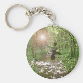 I Love To Dance! Basic Round Button Key Ring