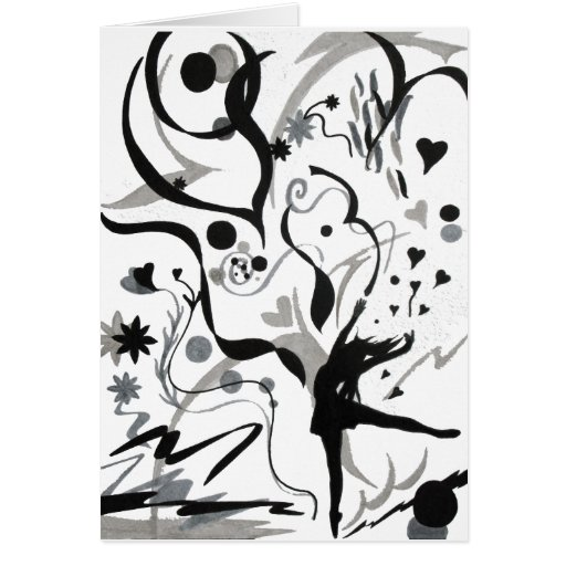 I Love To Dance! Greeting Cards