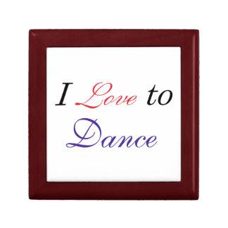 I Love to Dance Gift Box