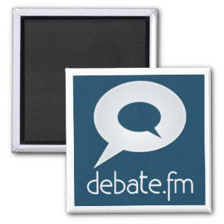 I love to Debate Square Magnet
