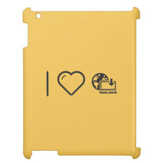 I Love To Download Internets iPad Case