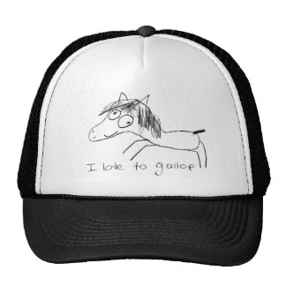 I Love to Gallop Cap