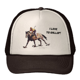I Love To Gallop! - Hat