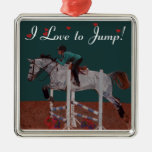 I Love to Jump! Horse Ornament