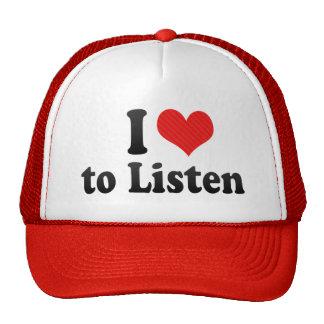 I Love to Listen Hat