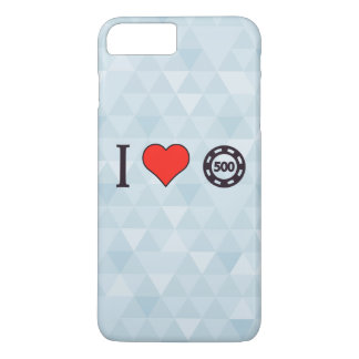 I Love To Live Dangerously iPhone 7 Plus Case