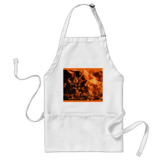 """I Love To Play With Fire"" BBQ Apron"