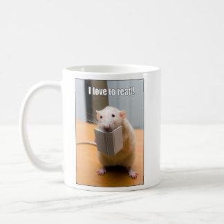 I love to read Marty Mouse Mug