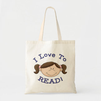 I Love to Read Tote Bag