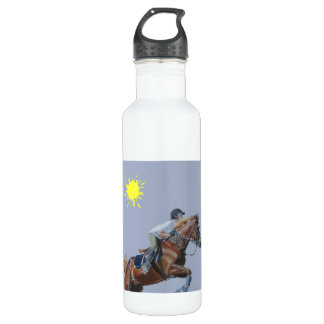 I Love To Ride! Hunter/Jumper Horse Liberty Bottle