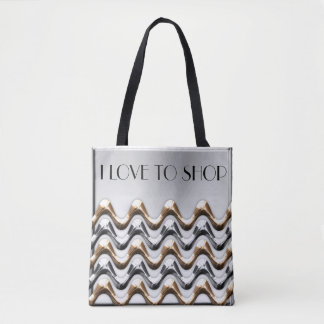 I love to shop Tote Bag