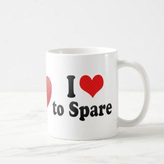 I Love to Spare Coffee Mugs