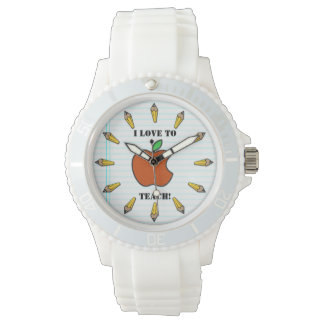 I Love To Teach! (Personalized) Watch