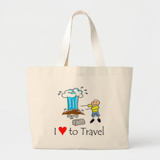 I love to travel T-shirts and Gifts. Tote Bags