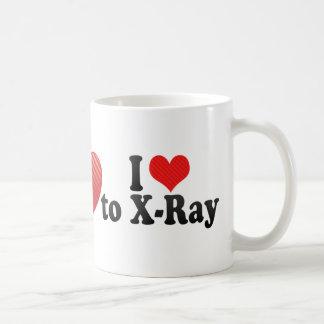 I Love to X-Ray Coffee Mug