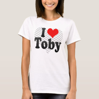 I love Toby T-Shirt