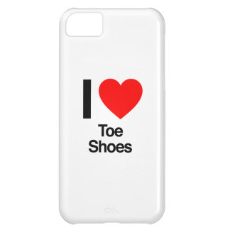 i love toe shoes cover for iPhone 5C