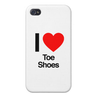 i love toe shoes cases for iPhone 4