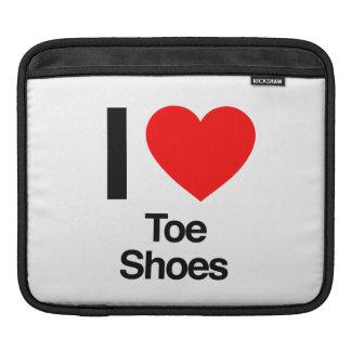 i love toe shoes sleeve for iPads
