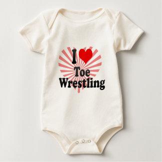 I love Toe Wrestling Bodysuits