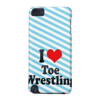I love Toe Wrestling iPod Touch (5th Generation) Cases