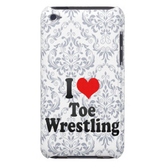 I love Toe Wrestling Barely There iPod Cover