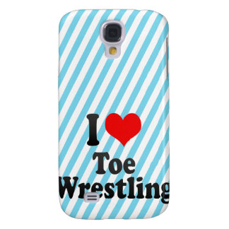 I love Toe Wrestling Galaxy S4 Covers