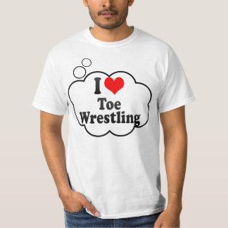 I love Toe Wrestling T Shirts