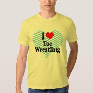 I love Toe Wrestling Tshirt