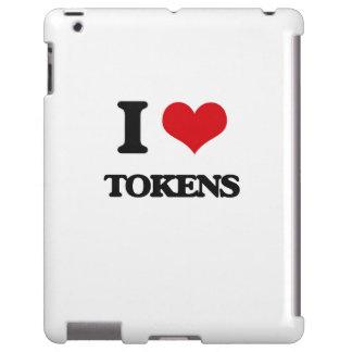 I love Tokens iPad Case